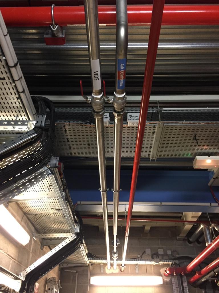 MILLIPORE : 600m2 de labo R&D Lot Fluides PROCESS